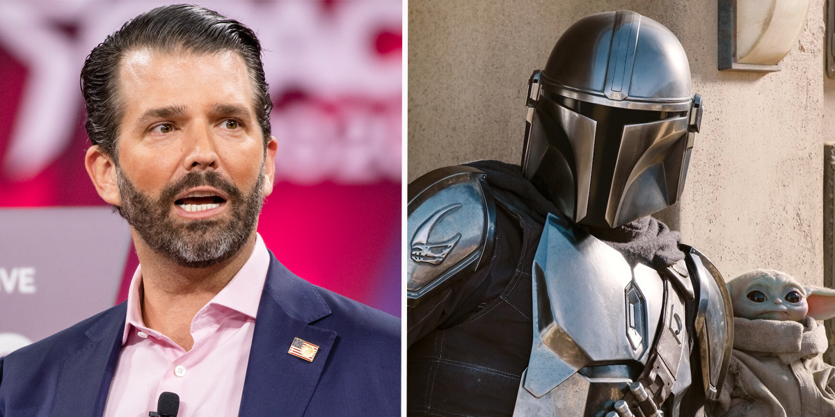 Donald Trump Jr. Wants Pedro Pascal Fired From 'The Mandalorian'