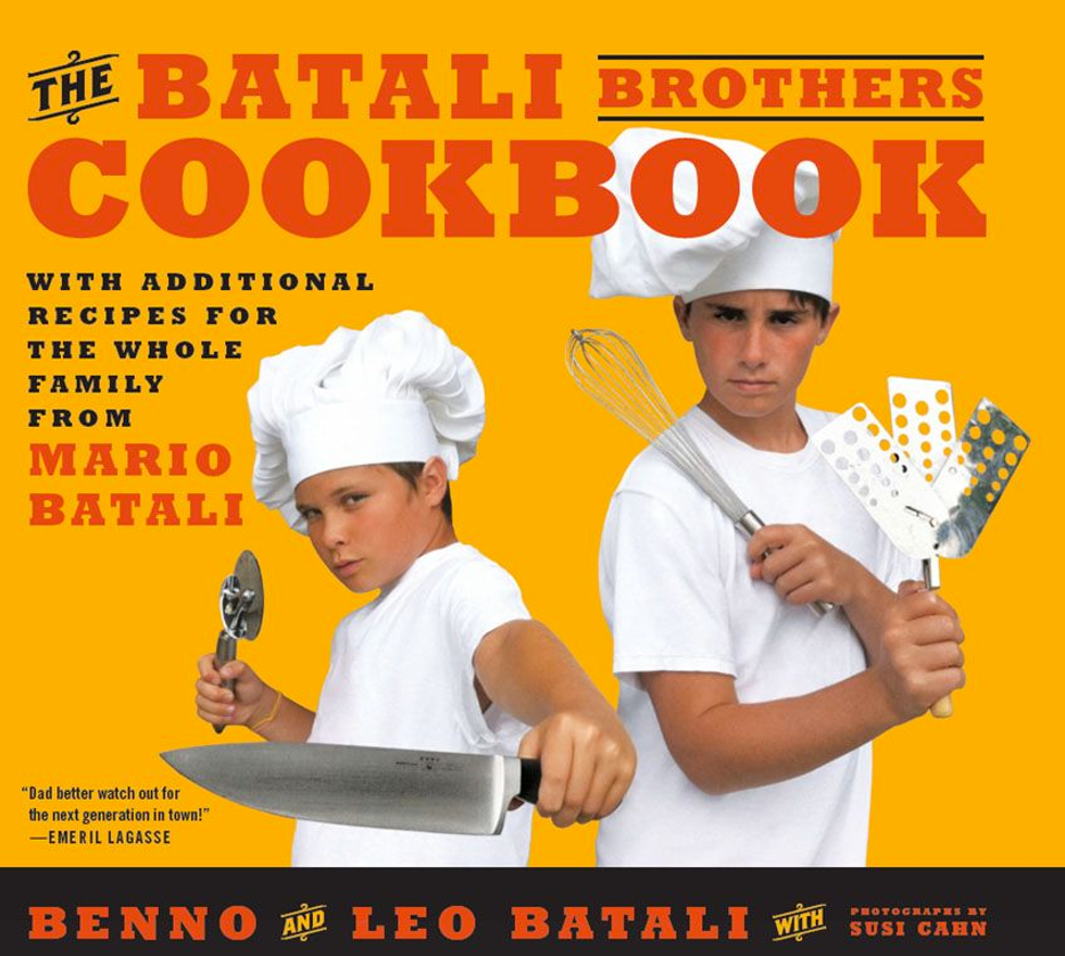 Benno and Leo Batali on Their New Cookbook and Chef Boyardee's Dark Side