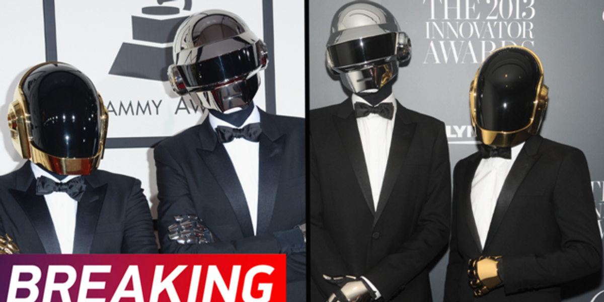 Daft Punk Split up After 28 Years Together