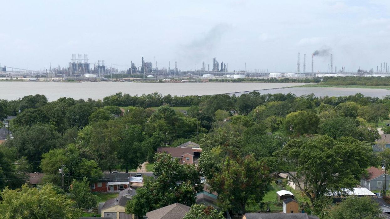 Texas Refineries Released Tons of Pollutants During Storm