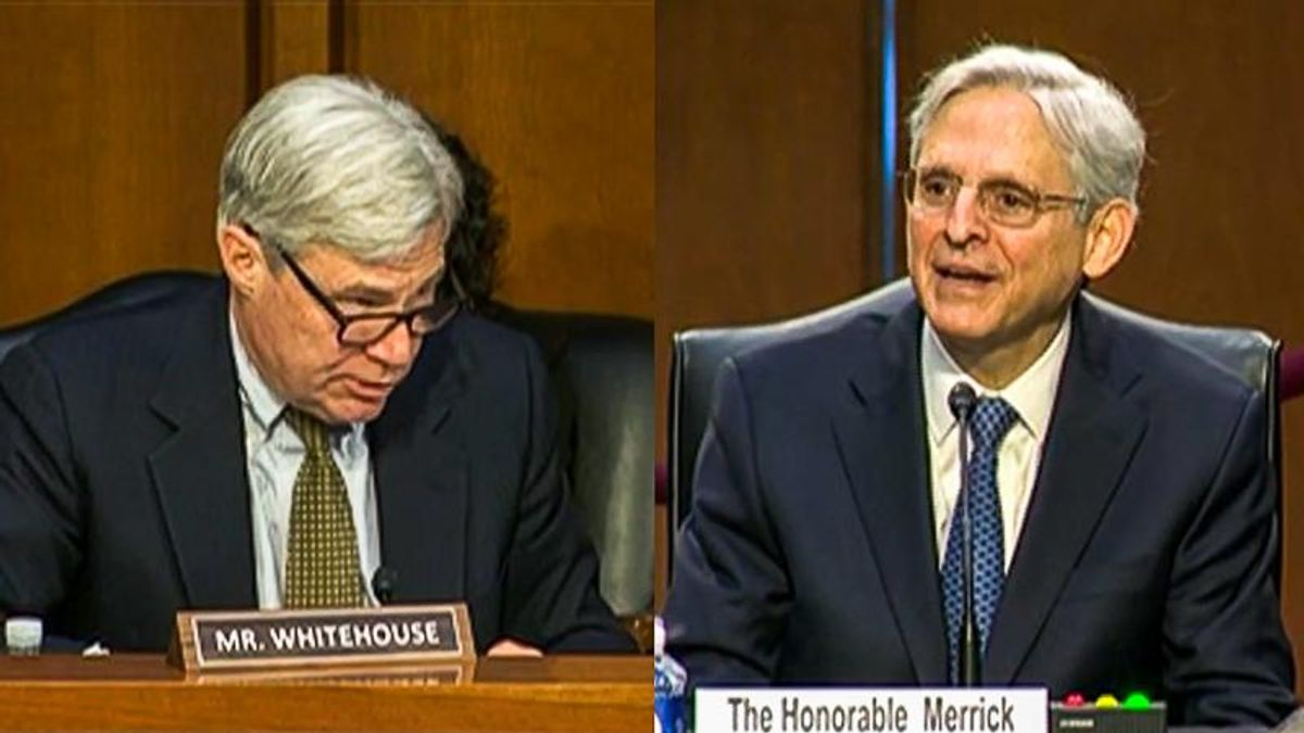 'Look upstream': Merrick Garland agrees to go after 'funders, organizers, ringleaders' of Jan. 6 attack
