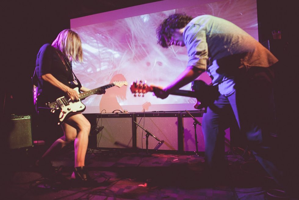 Scenes from Pitchfork's Northside Showcase with Body/Head, the Julie Ruin, Majical Cloudz + Foreplay