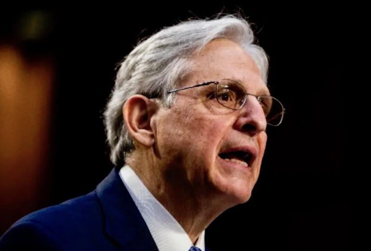 Biden's Justice pick Garland calls extremism his 'first priority'