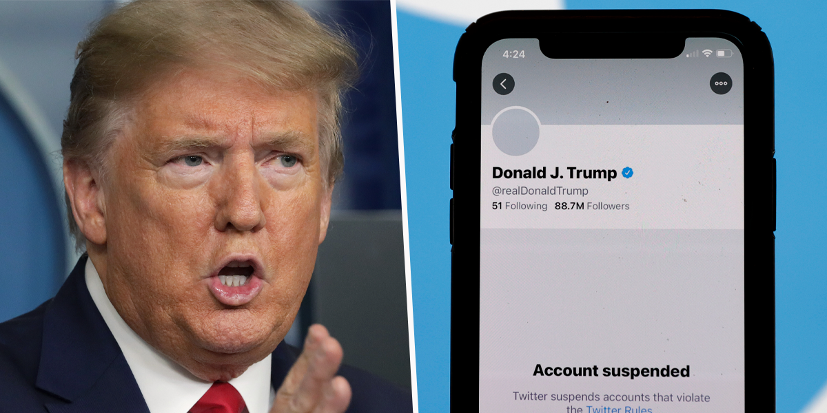 Donald Trump Says Twitter's 'Not the Same' and 'Very Boring' Without Him