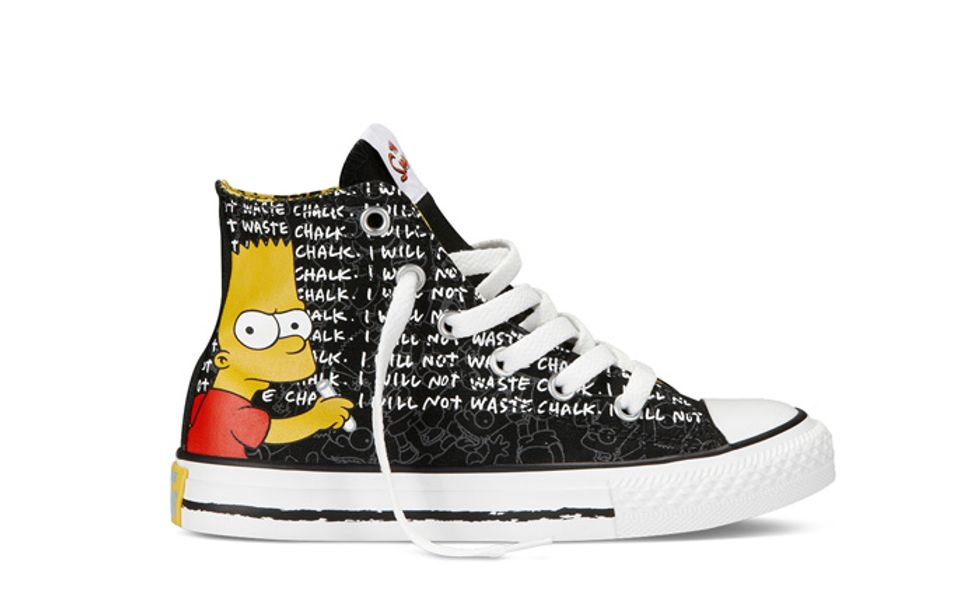 Behold: Simpsons Converse
