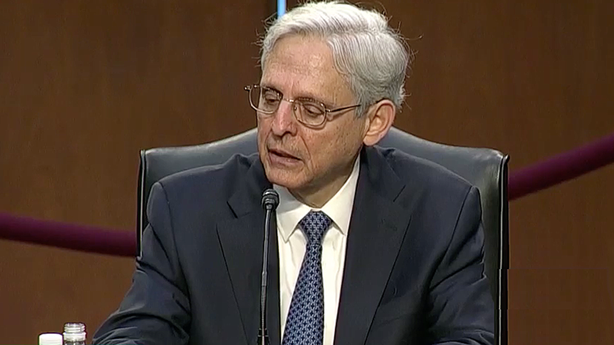 Merrick Garland gets emotional talking about how his family being refugees inspired him to public service