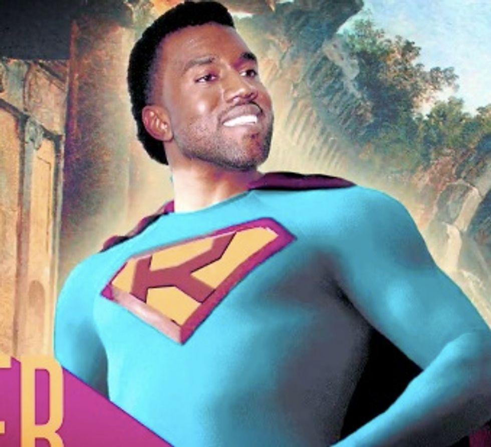 Kanye West: Man of Steel