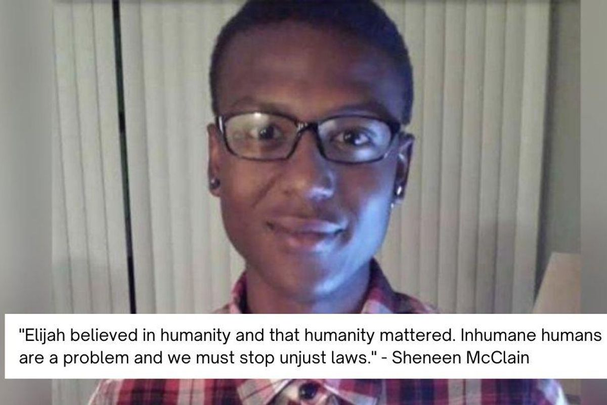 Elijah McClain's mom releases a powerful statement on police wrongdoing in her son's death