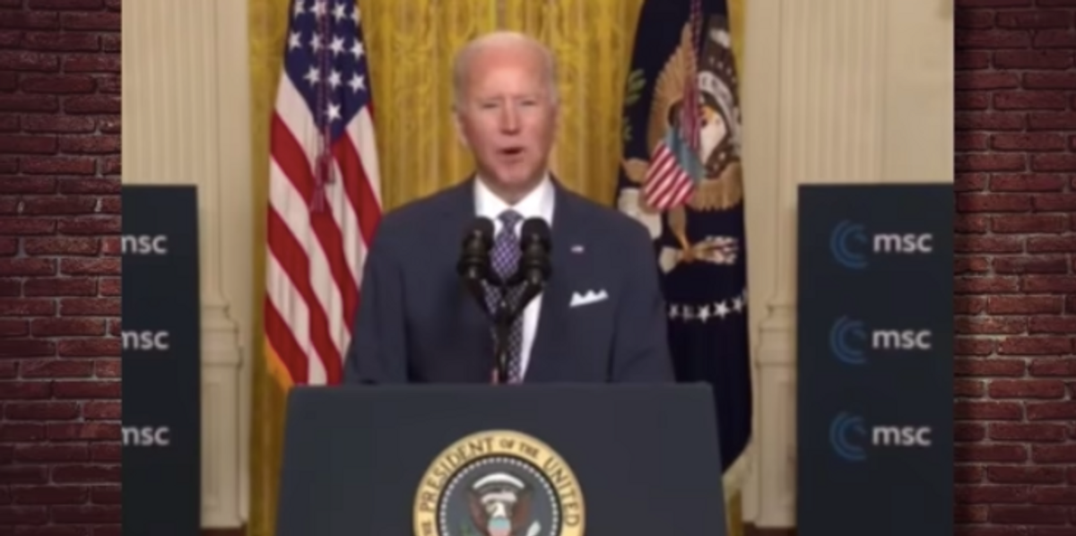 'Can you imagine if Donald Trump had said that?' - Steven Crowder on Biden's latest word whisker