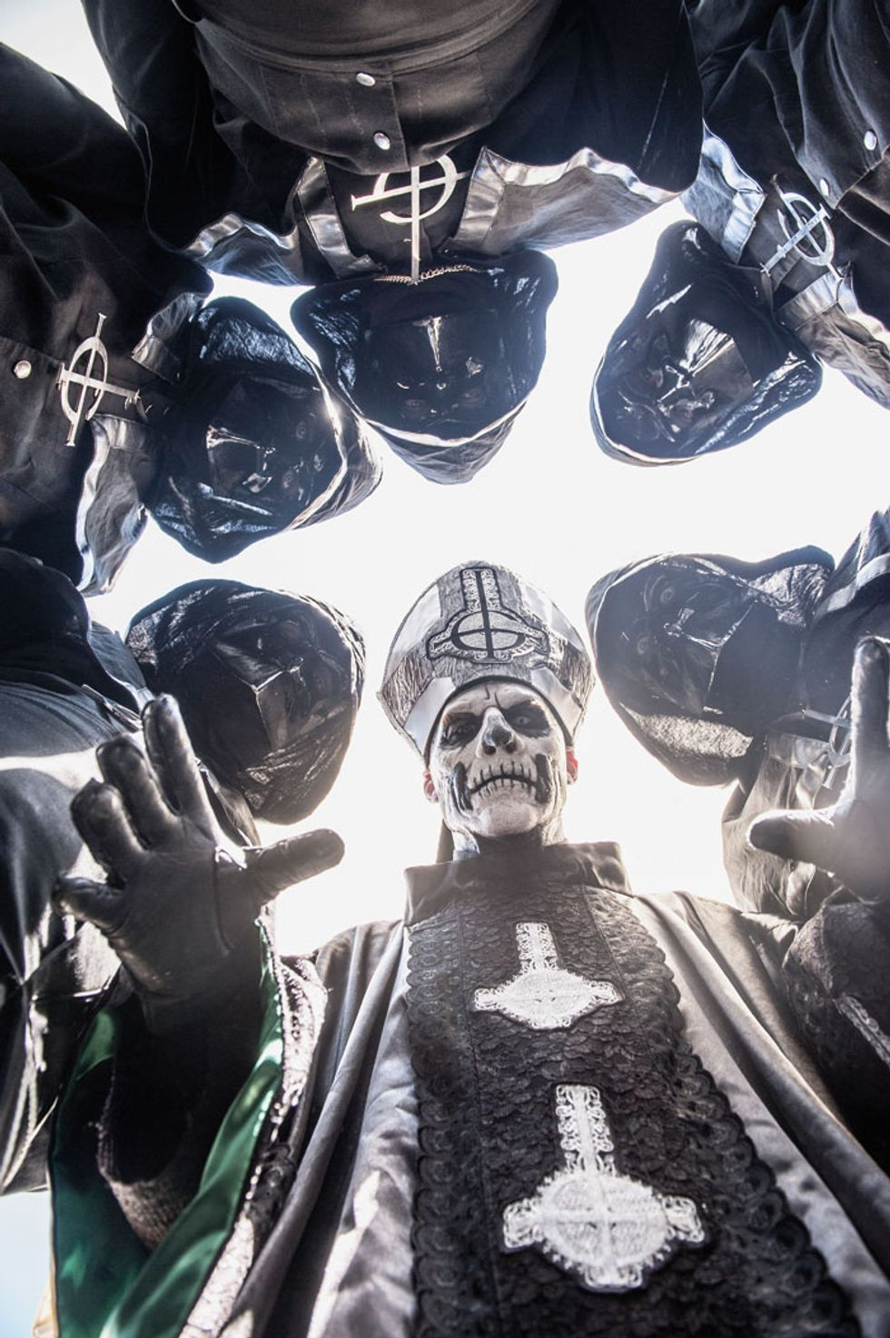 Sweden's Ghost B.C. Band Make Satan Worship for the Masses