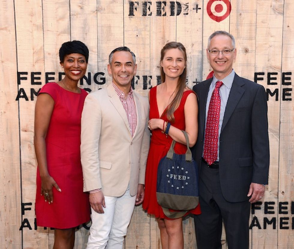 Scenes from Target's FEED USA Dinner at Brooklyn Bridge Park