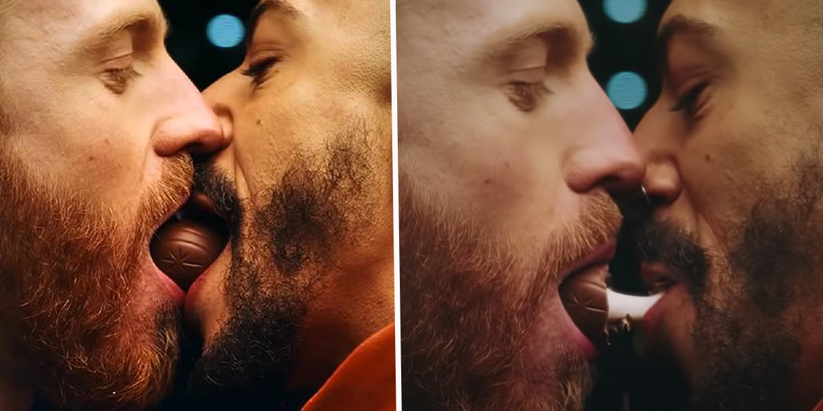 Cadbury's Forced To Respond To Petition Signed by Thousands To Ban Commercial Because of a Gay Kiss