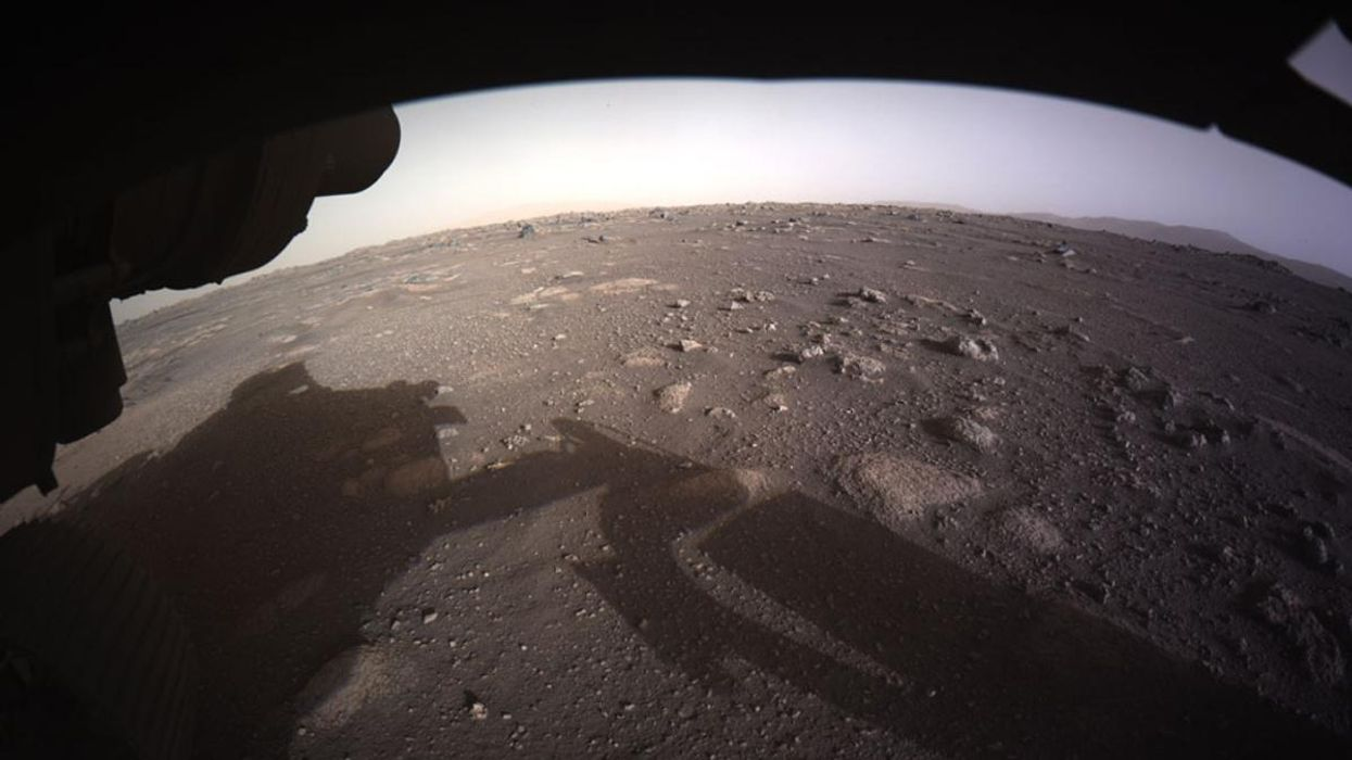 NASA Releases First Video and Audio of Mars Landing
