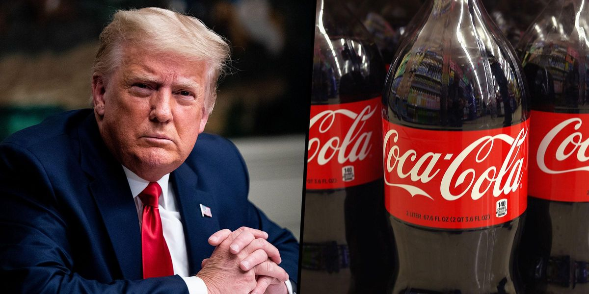 Donald Trump Supporters Furiously Call for Boycott of Coca Cola