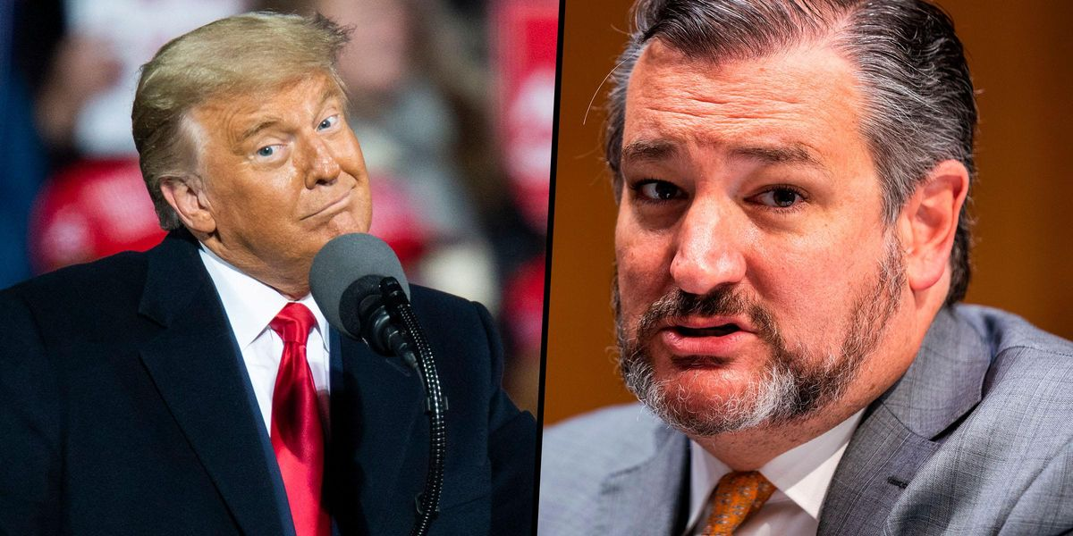 Ted Cruz Says the Media Is 'Obsessed' With His Mexico Trip Because It's 'Suffering From Trump Withdrawal'