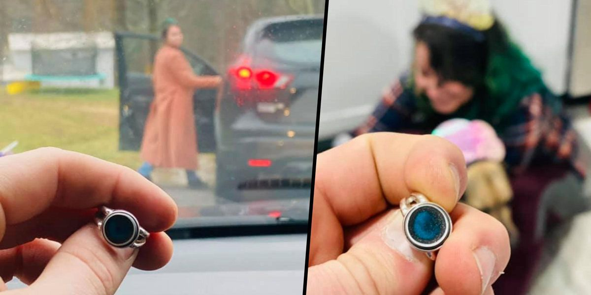 Man Takes Sneaky Photos of Girlfriend With Engagement Ring Without Her Realizing