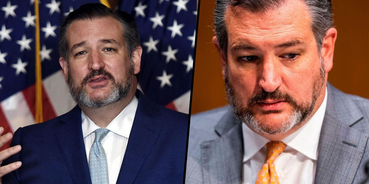Ted Cruz Blasts Neighbours Who Leaked His Wife's Texts About Cancun Trip