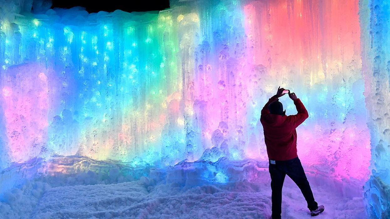 Will 'Ice Castles' Attractions Be Harder to Build in a Warming World?