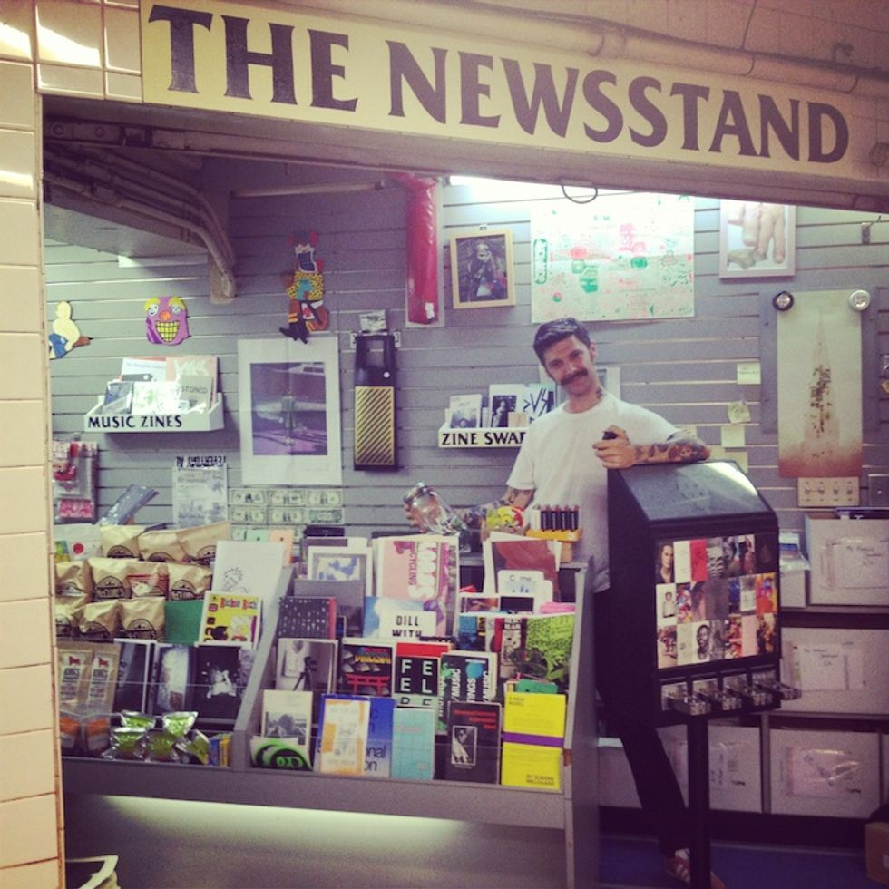 Meet the Folks Behind the Lorimer Station Zine Stand