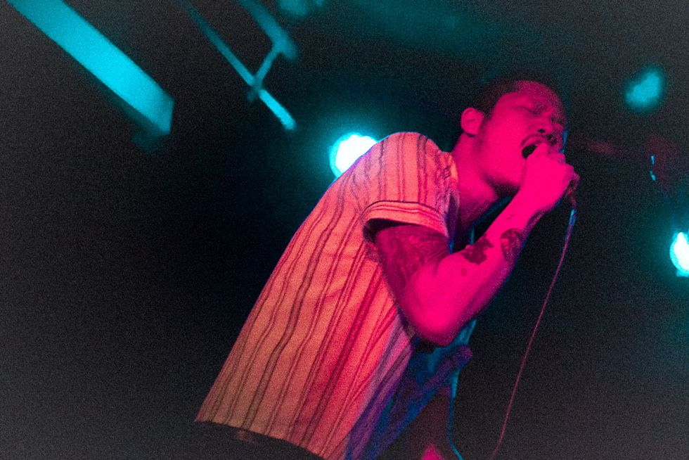 Scenes from Dirty Beaches at Mercury Lounge