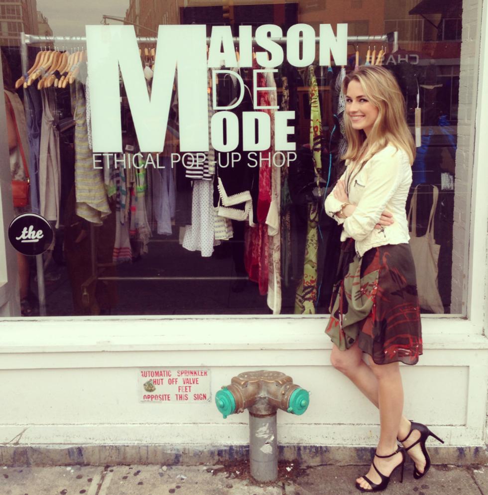 Go Shopping, Do Good at Amanda Hearst's Maison de Mode Pop-Up