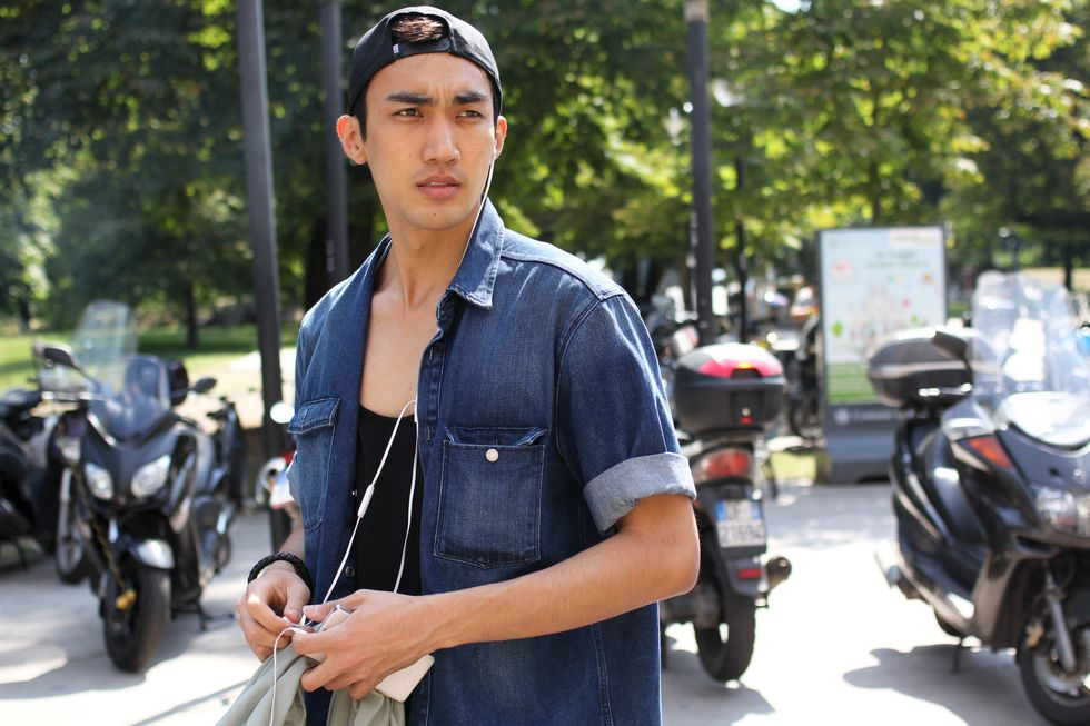 Male Models Galore on the Streets of Milan