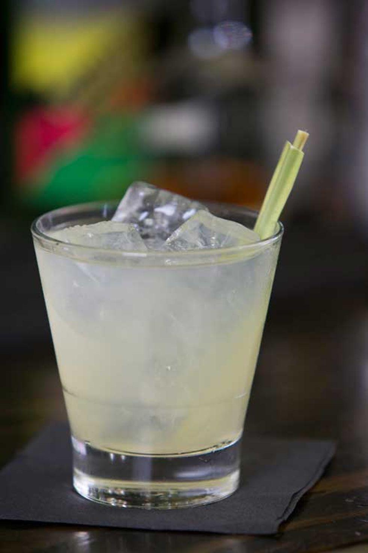 Hawker Bar's Exotic, Smoky No. 4
