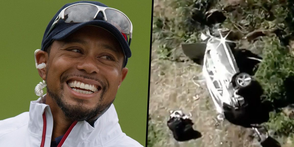 Tiger Woods Is Awake and 'Lucky To Be Alive' After Horrific Car Crash