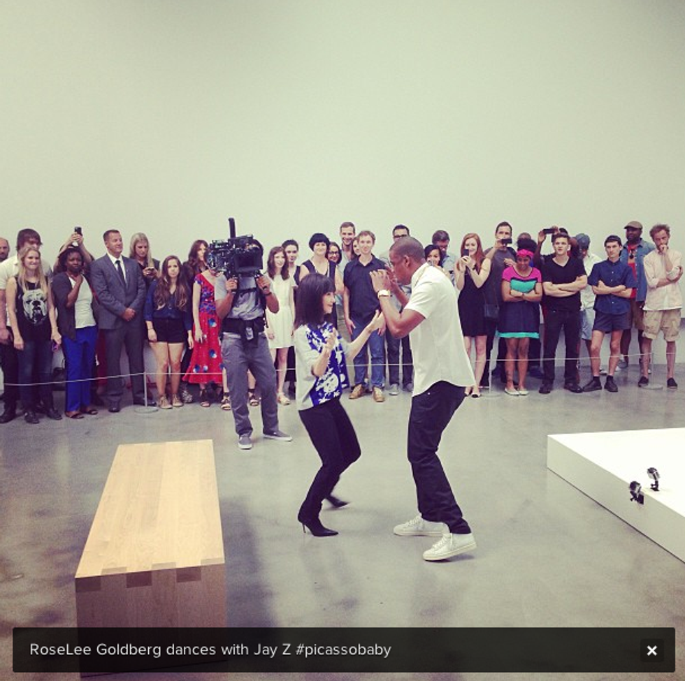 Jay-Z Filmed a Music Video With a Ton of Artists Inside Pace Gallery