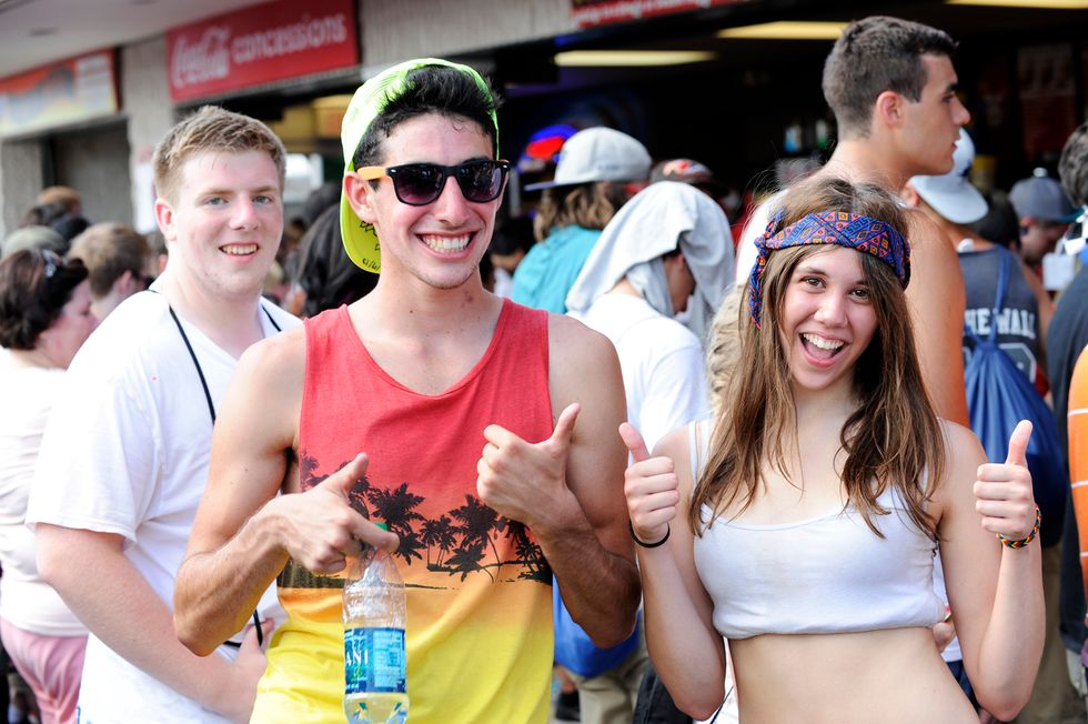 Scenes from the 2013 Vans Warped Tour at PNC Bank Arts Center