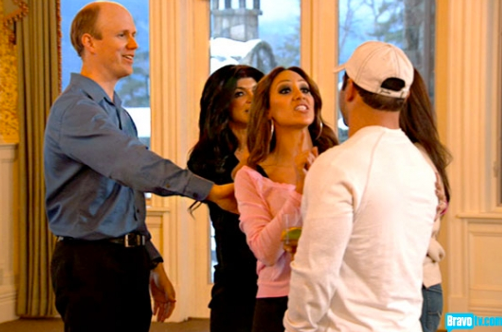 Real Housewives of New Jersey Recap: Retreat to the Castle of 1000 Corpses
