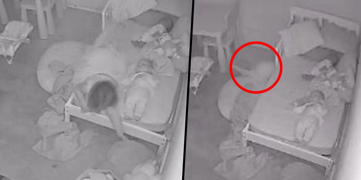 Dad Captures Horrifying Footage of Toddler Being 'Pulled Under the Bed' by 'Ghost'