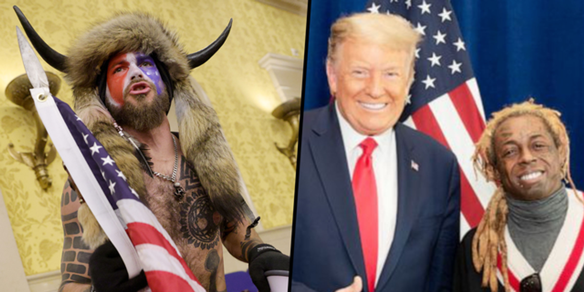 Horned Capitol Rioter Says He Lost Faith in Trump When He Pardoned Lil Wayne and Not Him