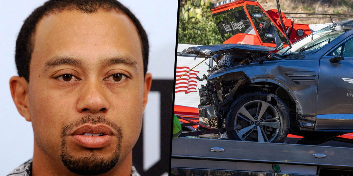 Tiger Woods 'Agitated and Impatient' as He 'Almost Had Accident' Before Horror Crash