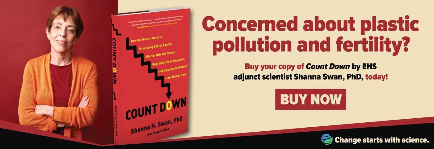 """Order your copy of Dr. Shanna Swan's """"Count Down"""""""