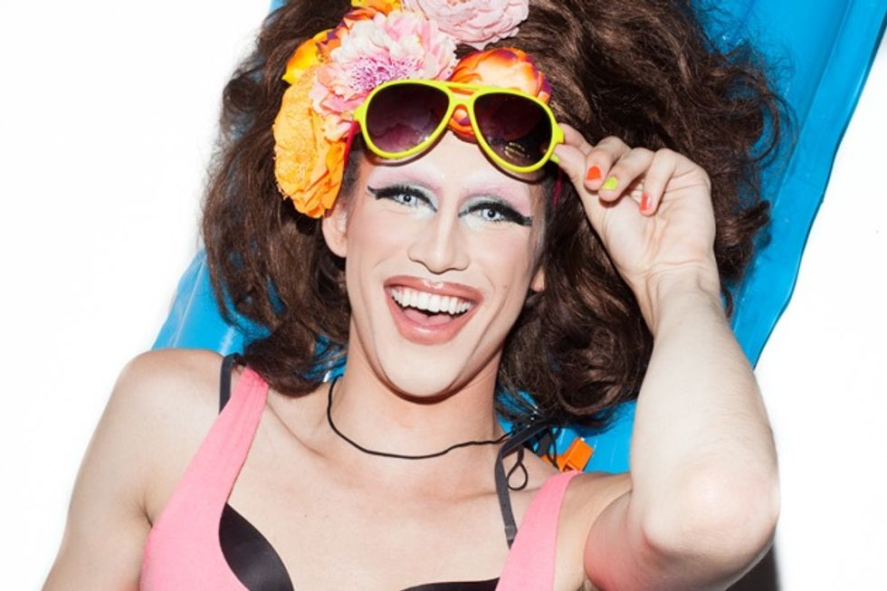 Papermag's New Favorite Drag Queens Hit the Beach in a Super Swimsuit Extravaganza
