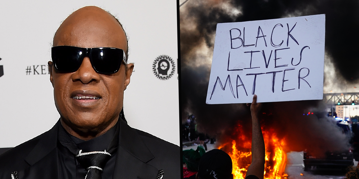 Stevie Wonder Announces He's Permanently Moving To Ghana Because America Is 'Too Racist'