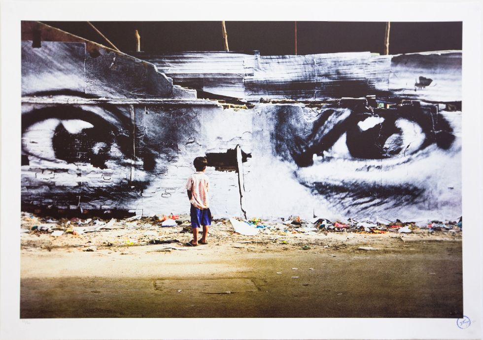 """Preview Images from Street Art Exhibition """"10 Years of Wooster Collective"""""""
