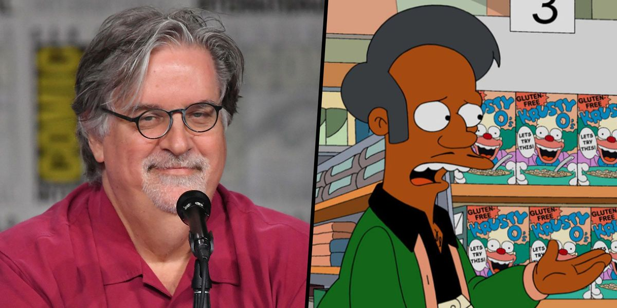 Matt Groening Says He 'Didn't Have a Problem' With White Actors Voicing Non-White Characters