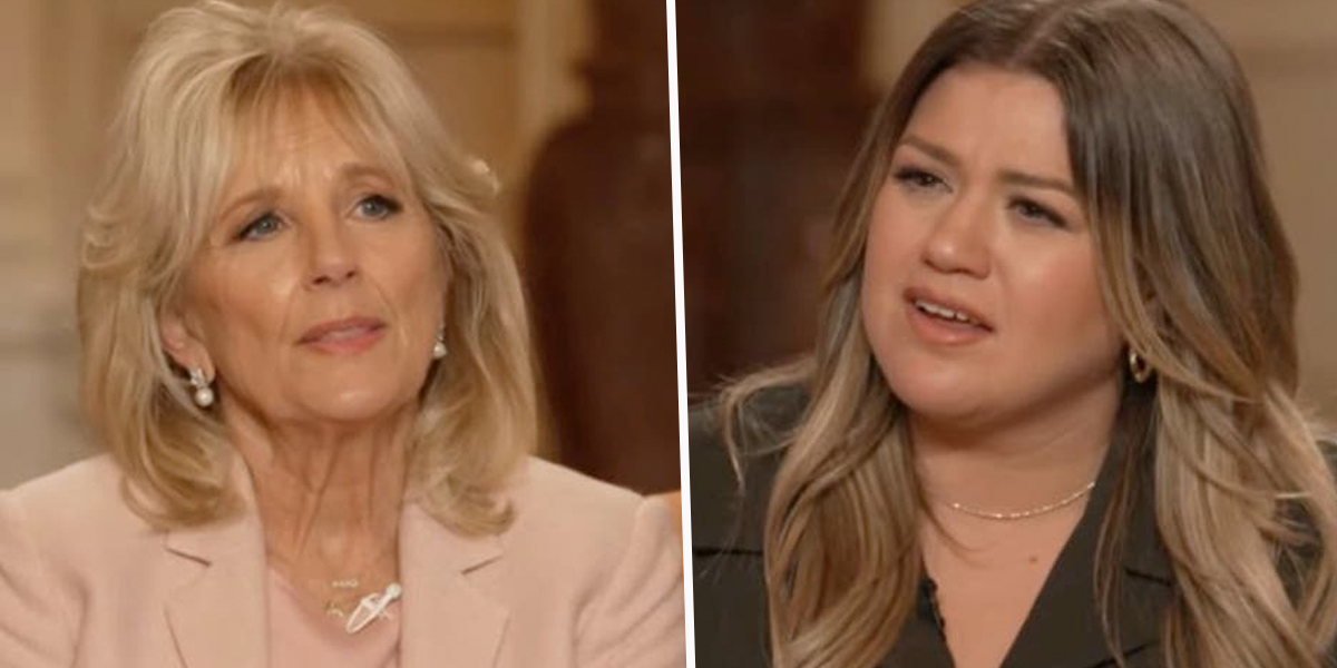Dr. Jill Biden Gives Kelly Clarkson Advice on Managing Divorce in New Interview