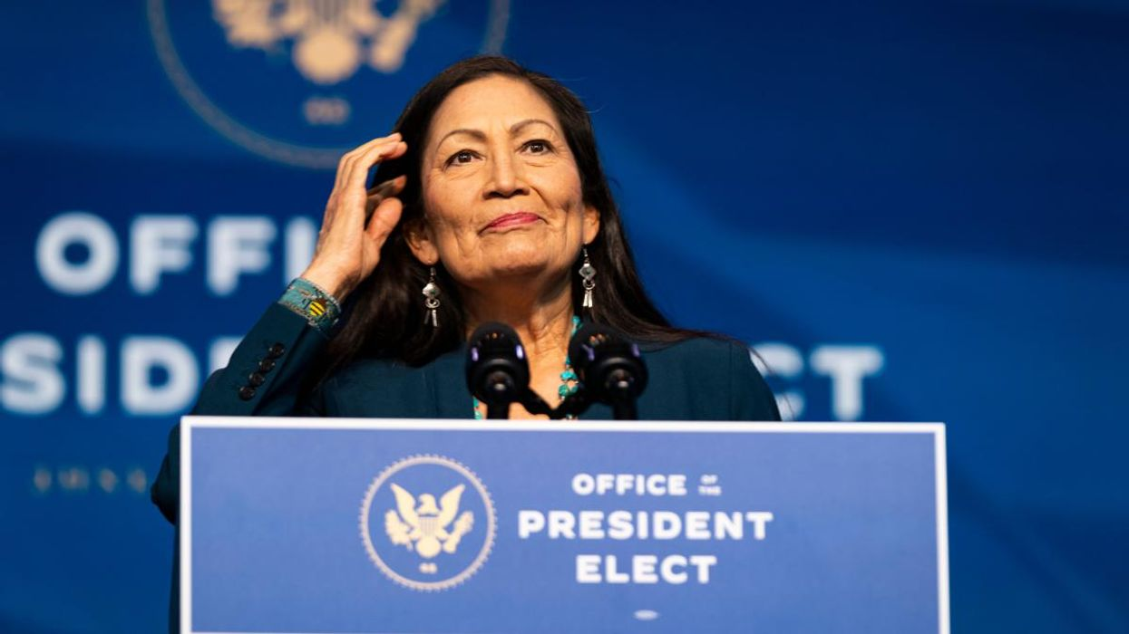 Rep. Deb Haaland on Verge of Becoming First Native American to Lead Interior