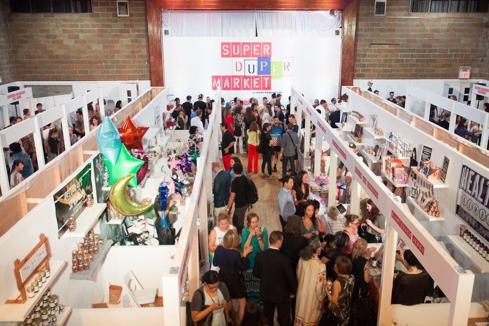 Scenes from the Opening Night of the 2nd Annual Super(Duper)Market