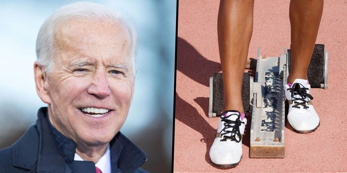 Joe Biden Withdraws From Lawsuit Seeking To Ban Trans Athletes From Girls' High School Sports