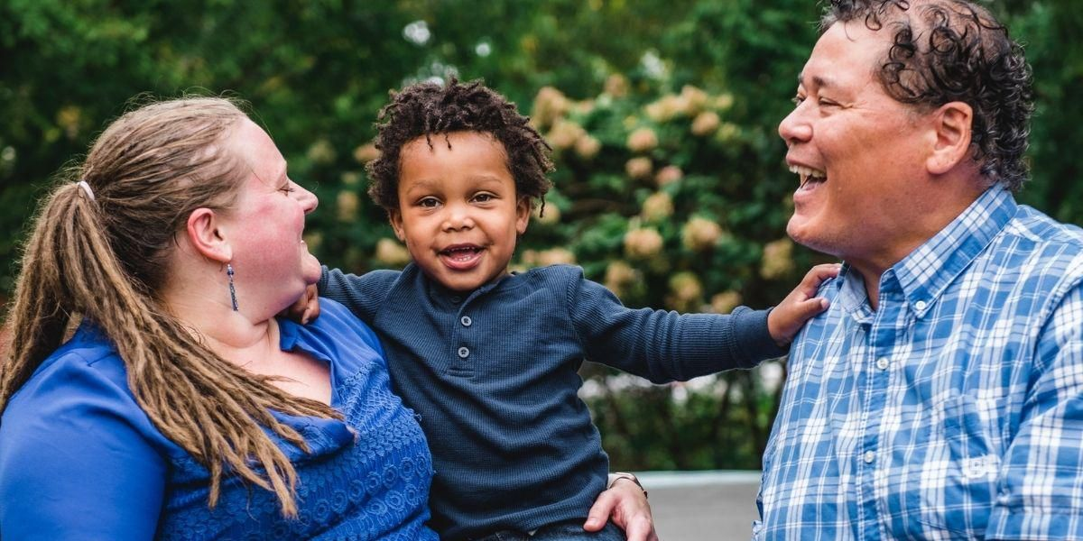 This family's journey to adoption demonstrates the transformative power of love