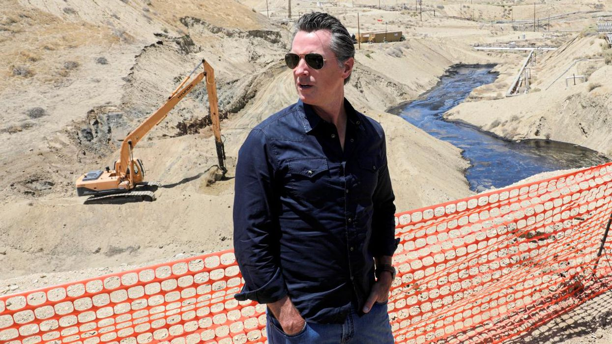 Gavin Newsom Sued for 'Completely Unacceptable' Approval of Oil and Gas Projects in California