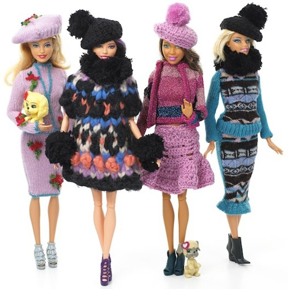 Barbie's Getting a New Wardrobe from Three English Designers of the Moment