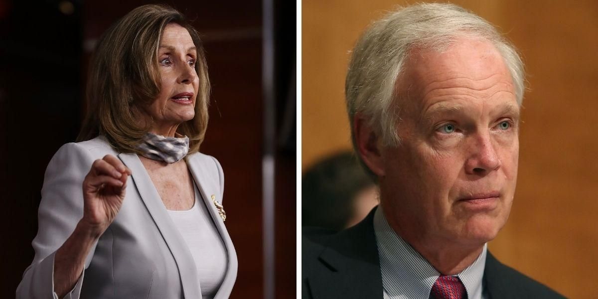 Nancy Pelosi Has Twitter LOLing After Accidentally Calling GOP Sen. 'Don Johnson' During Press Briefing