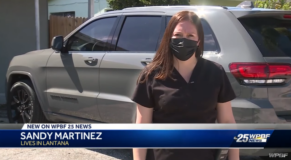 Why people hate government! Florida city fines woman more than 0K for parking incorrectly in her own driveway