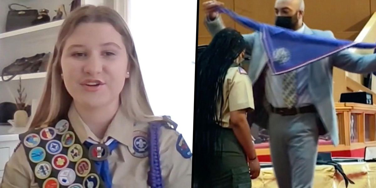 Nearly 1,000 Girls Become First Female Eagle Scouts