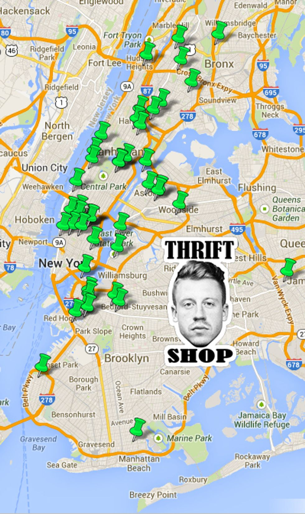 You Can Get Discounts at a Lot of NYC Thrift Stores This Saturday
